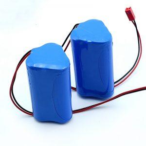 Batteria ricaricabile agli ioni di litio 3S1P 18650 10,8 v 2250 mah agli ioni di litio per dispositivo medico