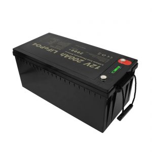 Batterie ricaricabili di nuovo design Batterie agli ioni di litio LiFePO4 12V 200Ah senza manutenzione