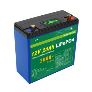 Batteria solare a ciclo profondo 24v 48v 24ah Lifepo4 Batteria UPS 12v 24ah