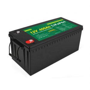 Prezzo di fabbrica Batteria solare LFP a ciclo profondo 12v 400Ah Batteria solare LiFePO4