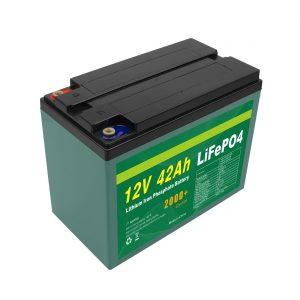 Pacco batteria solare personalizzato 12v 40ah 42ah Lifepo4 Lifepo4 con BMS