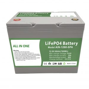 Batteria domestica in plastica da 12,8 V60 Ah di vendita in fabbrica 2000 cicli batteria lifepo4 da 12 V per l'energia domestica