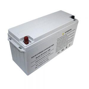 Accumulo di energia Batteria LiFePO4 12V 80Ah Batterie solari per alimentatori