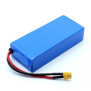 Batteria ricaricabile agli ioni di litio di alta qualità da 12 V 12 Ah con batterie agli ioni di litio 3S6P