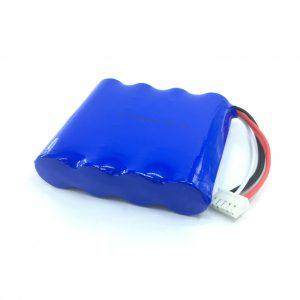 Pacco batteria al litio ricaricabile agli ioni di litio da 14,8 V 2200 mAh 18650 per aspirapolvere intelligente
