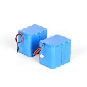 Batteria al litio ricaricabile personalizzata 18650 batteria agli ioni di litio 3s4p 12v ad alta scarica