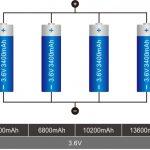 18650 Collegamento batteria al litio