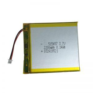 Batterie ai polimeri di litio da 3,7 V 2200 mAh per dispositivi domestici intelligenti