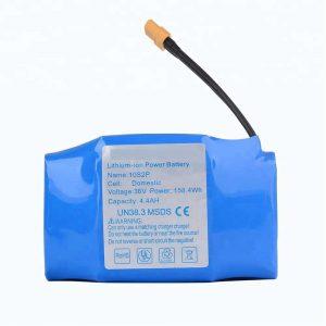 Pacco batteria al litio hoverboard 36v 4400mah 10s2p più venduto