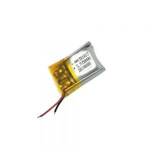 Batteria ai polimeri di litio di alta qualità 3.7V 50mAh 581013 batteria