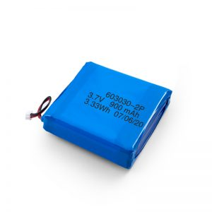 Batteria Li-Po Lipo ricaricabile personalizzata da 3,7 V 450530550700750800 900Mah