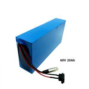 Pacco batteria ricaricabile personalizzato 60v 20ah EV batteria al litio