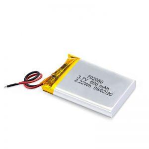 Cina all'ingrosso 3.7V 600Mah 650Mah Mini batteria al litio ai polimeri di litio ricaricabile Confezione per auto giocattolo