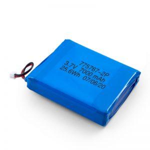 Batteria Lipo polimerica da 3,7 V 2450 2600 3900 4000 4500 4700 5000 6000 9000 Mah