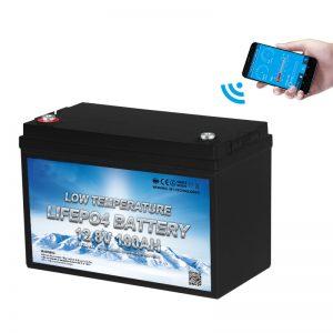 Batteria LiFePO4 a bassa temperatura 12V 100AH