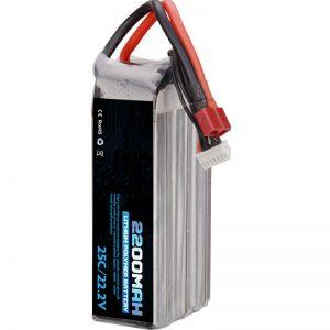 batteria ricaricabile ai polimeri di litio di vendita calda 22000 mah 6s lipo