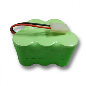Batteria ricaricabile NiMH D9000mAH 6V