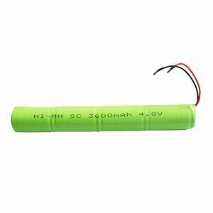 Batteria ricaricabile NiMH SC 3600mAH 4.8V