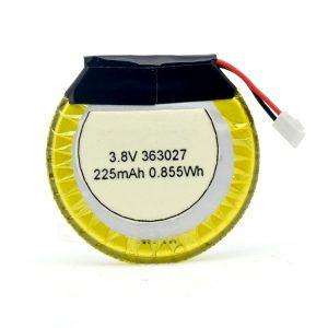 Batteria LiPO personalizzata 363027 3,7 V 225 mAH