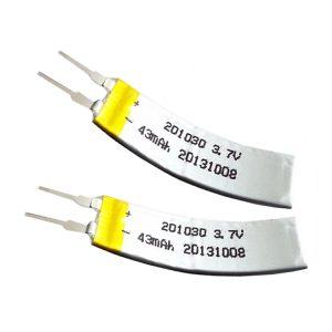Batteria LiPO personalizzata 3,7 V 43 mAH