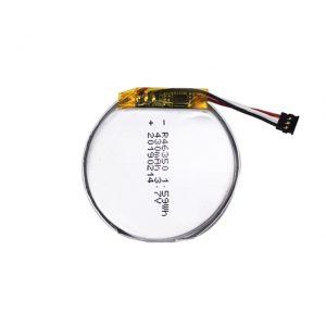Batteria LiPO personalizzata 46350 3.7 V 350 mAH batteria per smartwatch 46350 piccola batteria ai polimeri di litio rotonda piatta per giocattoli