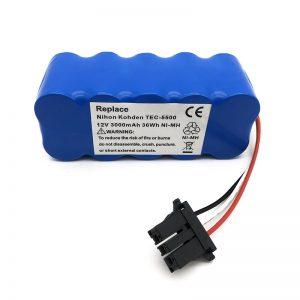 Batteria 12v ni-mh per aspirapolvere TEC-5500, TEC-5521, TEC-5531, TEC-7621, TEC-7631